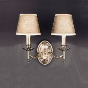 Petersfield Double Wall Light in Bronze